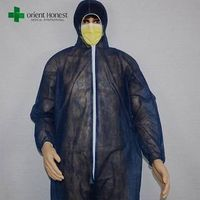 Disposable chemical resistant medical lab coats