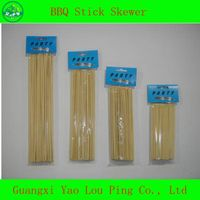 Disposable BBQ Skewer, Barbecue Stick, Bamboo&Wooden Skewer