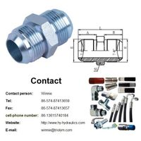 male 74 cone JIC hydraulic fittings 1J