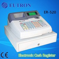 fiscal cash register with metal cash drawer for retail,food service,special store ER-520