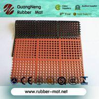 interlocking rubber grid jigsaw mat thumbnail image