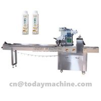 Automaticflowwrapping machine for food thumbnail image
