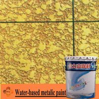 Water-based metalic paint