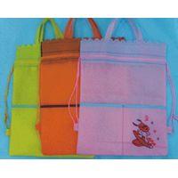 Non Woven Heat Pressing Drawstring Bags