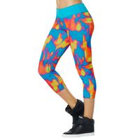 zumba Hot In Here Perfect Capri Leggings k -Running for fitness yoga absorb sweat permeability seven