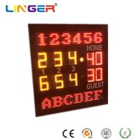 Outdoor Steel Frame Tennis Scoreboard for Stadium