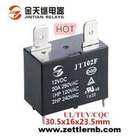 25A High Power PCB/QC Relay with Miniature Size/High Quality (102F) Direct Sales