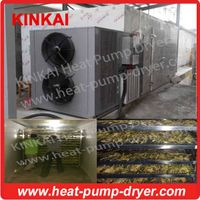 Commercial and industrial heat pump dryer for food