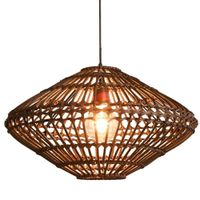 Vietnam Bamboo Rattan Lighting Fixtures Chandeliers Decor Lamp for Home Decor thumbnail image