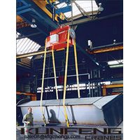 180° load turning device with double electric hoist for large workpiece thumbnail image