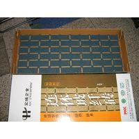 flexible fiberglass asphalt wall tiles