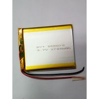 Biyate 3.7v 2700mah li polymer battery for game player