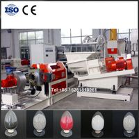 Plastic compounds conical forced feeder