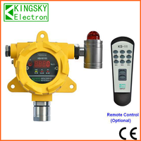 factory direct sale fixed combustible and toxic gas detector KB-501SG with alarm and display