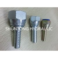 PIPE FITTING HOSE ADAPTER HYDRAULIC FITTING ORFS FEMALE FLAT SEAL