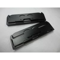 China machining manufacturer provide black anodizing aluminum  milling parts