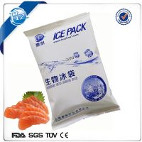 cold gel ice pack for frozen meal storage and shipping