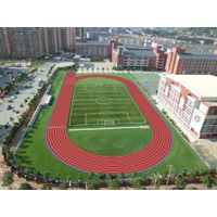 IAAF Running Track Polyurethane PU Surface layer paving materials 4:1
