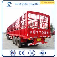 fence semi trailer with fuwa axle