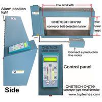 Industrial metal detector, metal detector head, mining metal detector, tunnel metal detector thumbnail image