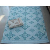 100% cotton towel terry  blanket