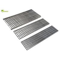 Carbon Steel Floor Drain Grating Hot Dip Galvanized Stair Grid Catwalk Treads thumbnail image