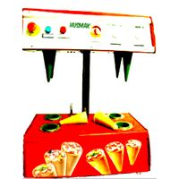 PIZZA CONE MACHINE 4 cones shaper