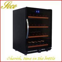 150liter graceful wine cooler refrigerator with Arc handle