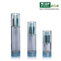 2014 China Beautiful Cylindrical AS Cosmetic Airless Bottle (PA11)