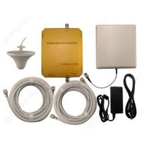 GSM and PCS dual band 900Mhz/2100Mhz 3G mobile phones signal repeaters with antennas 900mhz and 2100