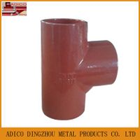 China supplier EN877 cast iron tee pipe fittings for drainage thumbnail image