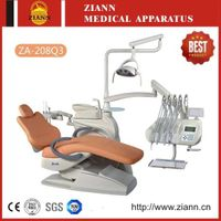 Luxury Nine Memories Control System Dental Chair ZA-208Q3  with LED Operating Light
