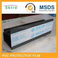 pvc protective film for  anodizing aluminum profiles/pvc protection tape for  aluminum wndow door