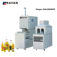 PET Semi-automatic Feeding System Blow Moulding Machine for Mineral Water Bottle