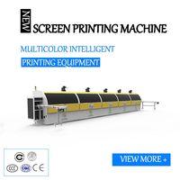Automatic intelligent five color screen printing machine for plastic, glass bottle, bottle cap, thumbnail image