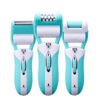 Hot sale Rechargable 3in1 Epilator Lady shaver callus remover