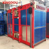 Building construction lift for material and passenger with high quality