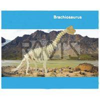 Brachiosaurus-3D wooden puzzles, wooden construction kit,3d wooden models, 3d puzzle