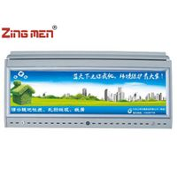 ZT680 Aluminum Bus LED Panoramic Air Duct With Adverstising