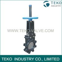 ANSI Full Lug Body Knife Gate Valve