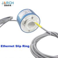 Broadband medium frequency USB high speed data line signal coaxial line Ethernet Slip Ring thumbnail image