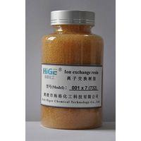 001 x 7 Strongly acidic styrene type cation exchange resin thumbnail image