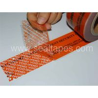 SECUTAC Security tape warning unauthorized removal