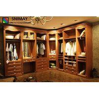 Melamine Bedroom Wardrobe Wooden House Furniture Clothes Storage Closet