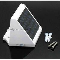 ABS Body Material LED Light Source LED Solar Panel Wall Light thumbnail image