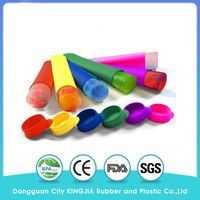 Silicone Popsicle - Ice Pop Molds - Set of 6 with Lids