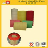 air filter paper for auto air filteration