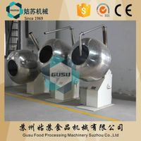 Gusu chocolate polishing machinery sugar coating pan