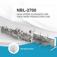 NBL-2700 High Speed N95 Mask Production Line thumbnail image