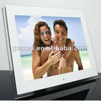 """15"""" wall mount led digital photo frame,Support AD player"""